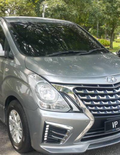 hyundai starex chauffeur KL service
