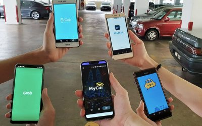 5 Most Popular Ride-Hailing Apps in Malaysia 2019